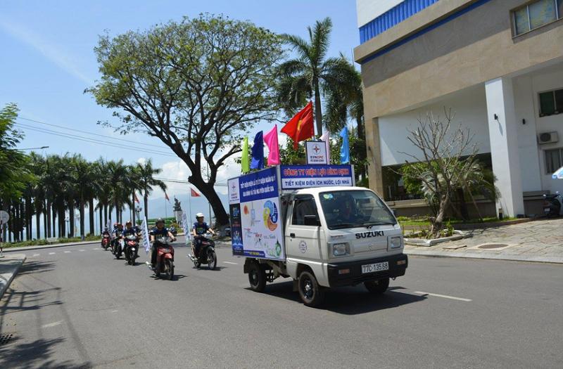 PC Bình Định hưởng ứng chiến dịch Giờ Trái đất 2018