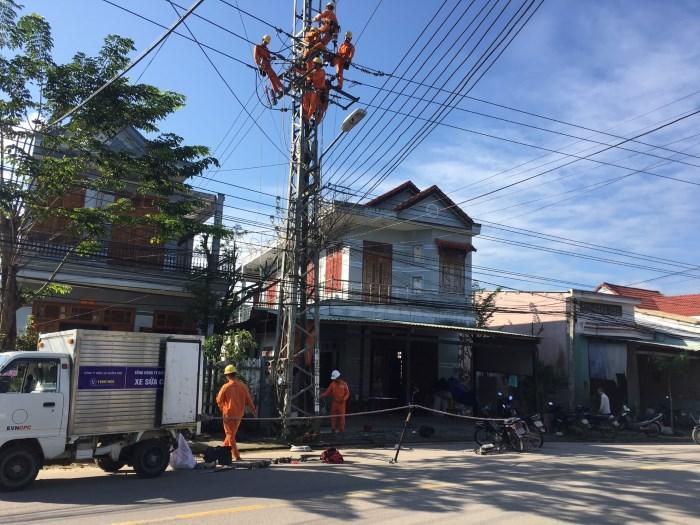 PC Quảng Nam hoàn thành đầu tư xây dựng lưới điện 2019 khu vực Trà My