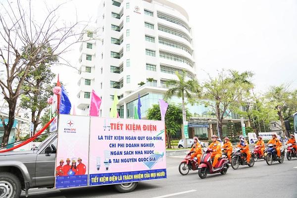 PC Đà Nẵng khởi động tuần lễ tuyên truyền tiết kiệm điện và hưởng ứng chiến dịch Giờ Trái đất
