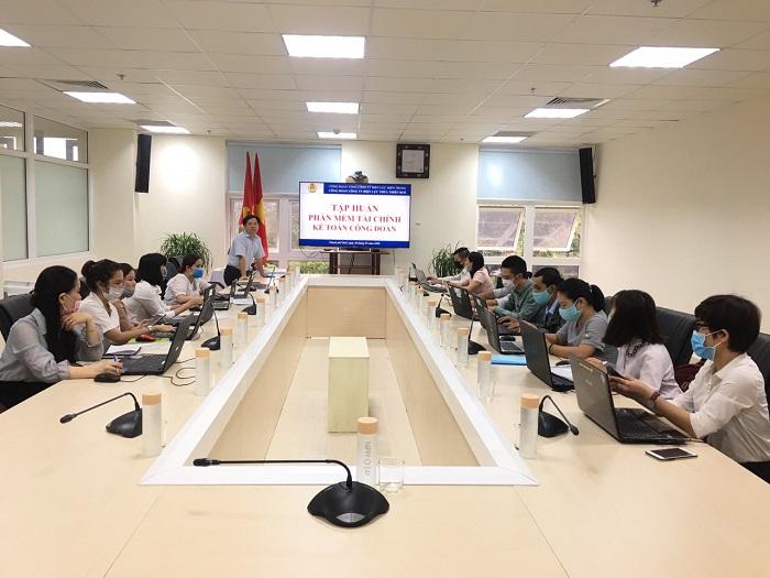 PC Thừa Thiên Huế: Tập huấn sử dụng phần mềm tài chính kế toán Công đoàn