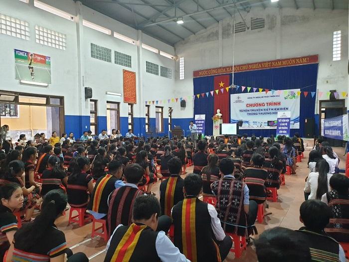"""PC Thừa Thiên Huế: Tổ chức chương trình """"Tuyên truyền tiết kiệm điện trong trường học"""" năm 2019"""