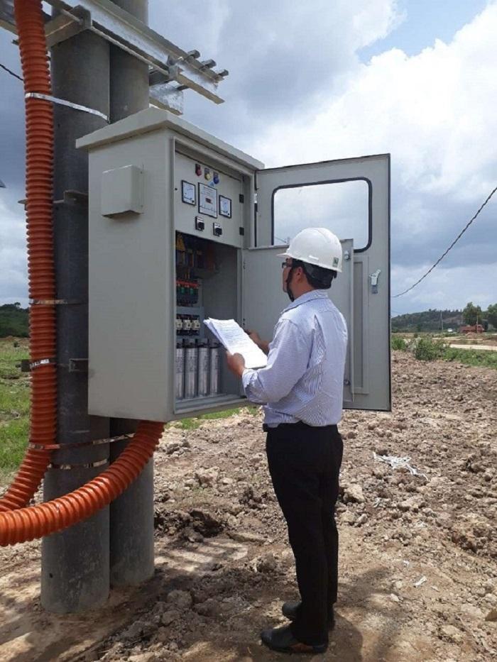 PC Đắk Nông: Cấp điện thi công nhà máy điện mặt trời