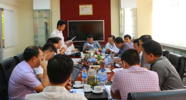 Cục Điện lực và Năng lượng tái tạo làm việc về công tác rút ngắn thời gian tiếp cận điện năng tại PC Quảng Nam