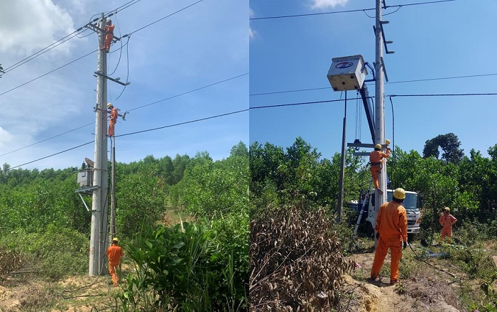PC Thừa Thiên Huế: Hoàn thành cấp điện lưới cho địa phương miền núi thị xã Hương Trà