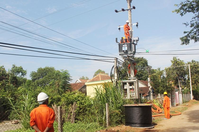 Hành trình thắp sáng ánh điện vùng nông thôn Quảng Ngãi