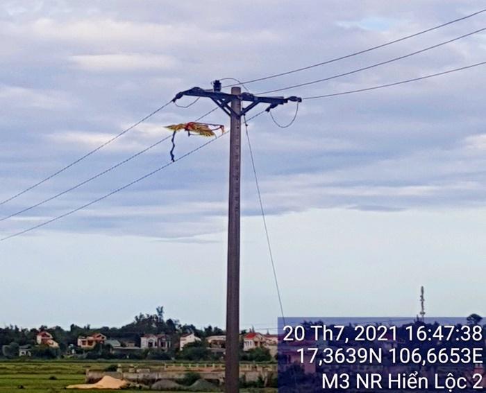 PC Quảng Bình: Ngăn chặn tình trạng thả diều gây mất an toàn lưới điện