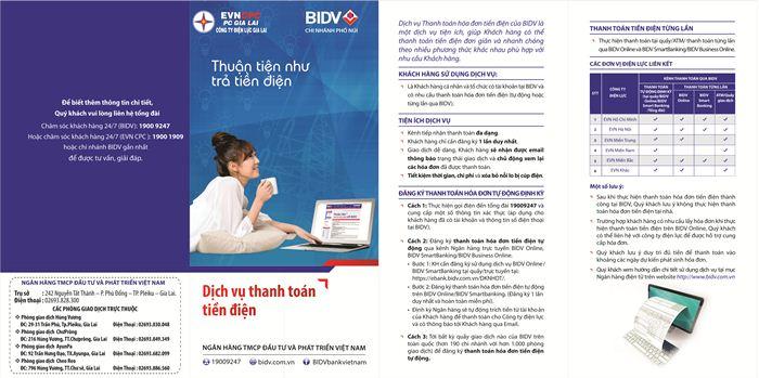 PC Gia Lai: Đẩy mạnh triển khai dịch vụ thanh toán tiền điện qua ngân hàng điện tử và thanh toán hóa đơn tự động